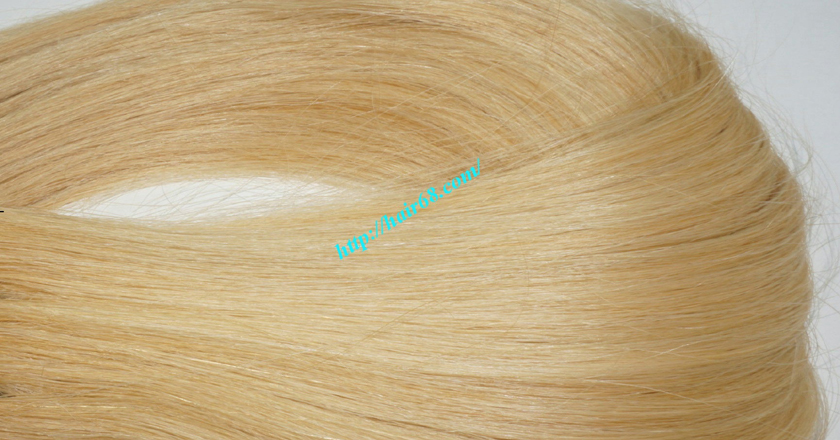 22 inch blonde weave hair straight remy hair 3