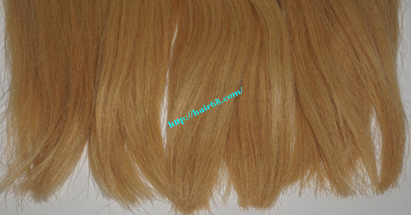 22 inch blonde weave hair straight remy hair 4