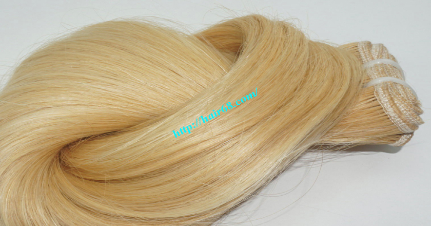 22 inch blonde weave hair straight remy hair 7