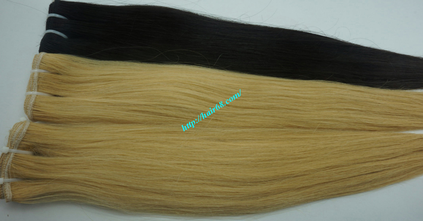 22 inch blonde weave hair straight remy hair 8