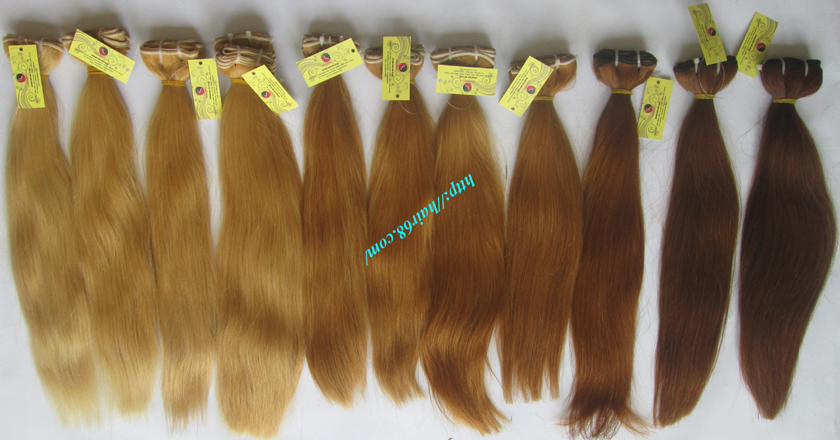 22 inch blonde weave hair straight remy hair 9