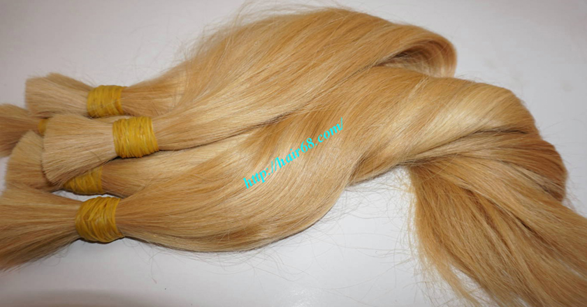Hot selling blonde human hair extensions cheap price 24 inch blonde hair straight single drawn 2 pmusecretfo Image collections