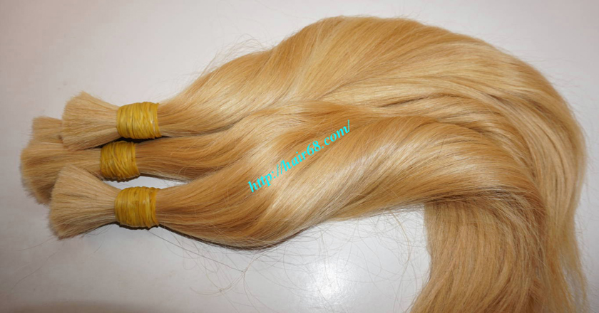 Hot selling blonde human hair extensions cheap price 24 inch blonde hair straight single drawn 3 pmusecretfo Image collections