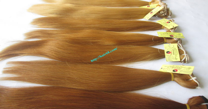 24 inch blonde weave hair straight remy hair 10