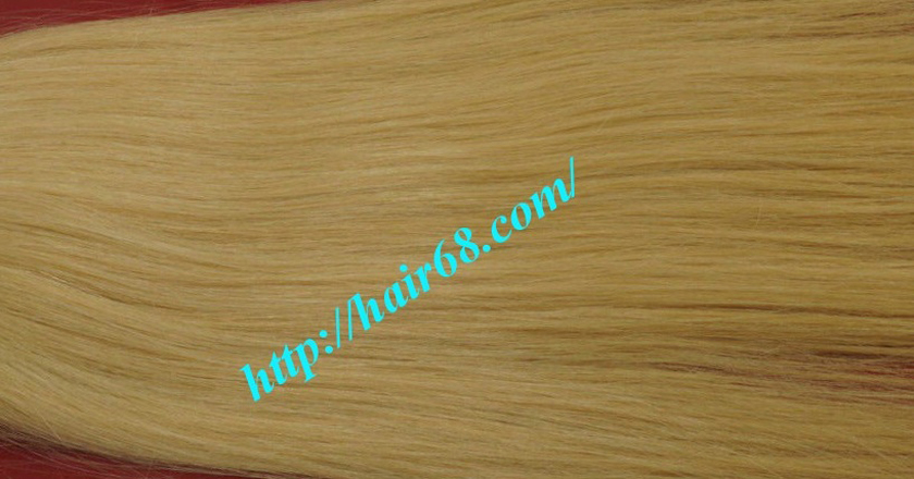24 inch blonde weave hair straight remy hair 3