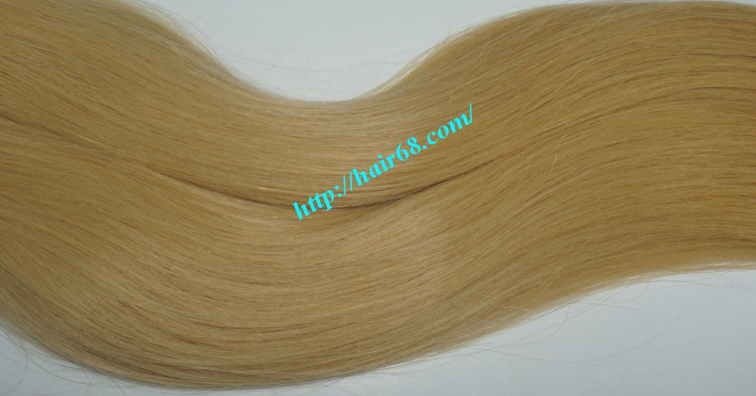 26 inch blonde weave hair straight remy hair 3