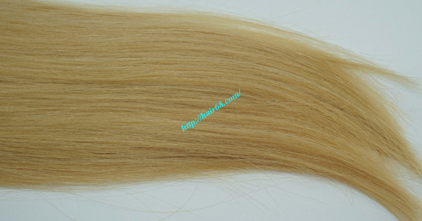 26 inch blonde weave hair straight remy hair 4