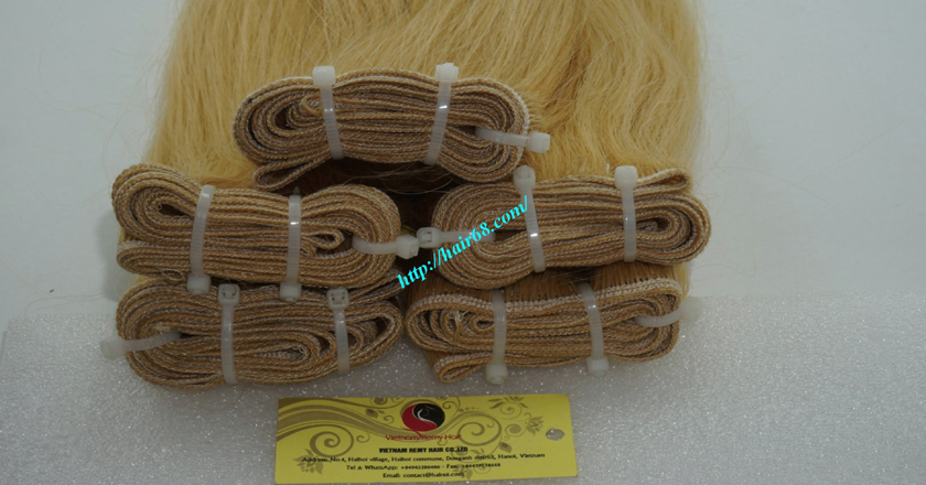 26 inch best blonde weave hair extensions 1