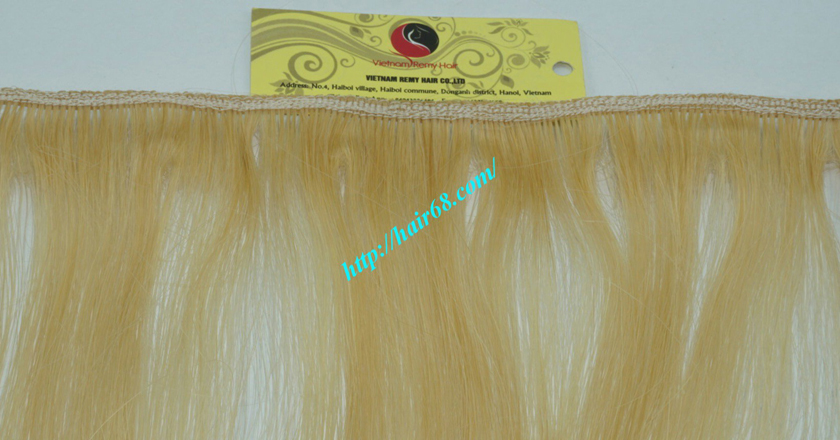26 inch best blonde weave hair extensions 2