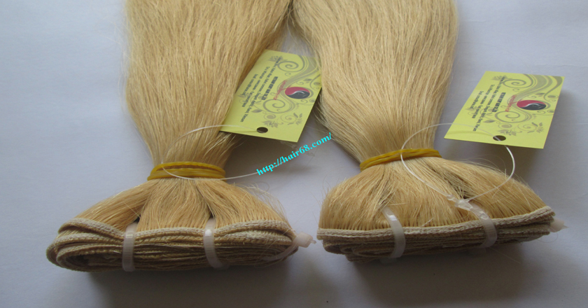 26 inch best blonde weave hair extensions 5