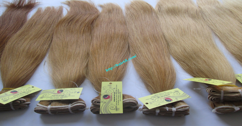 26 inch best blonde weave hair extensions 7