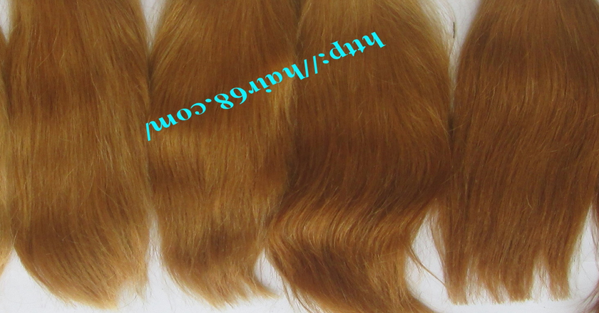 28 inch blonde weave hair straight remy hair 4