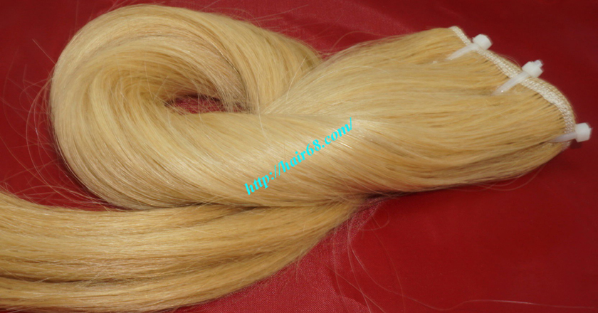 28 inch blonde weave hair straight remy hair 5