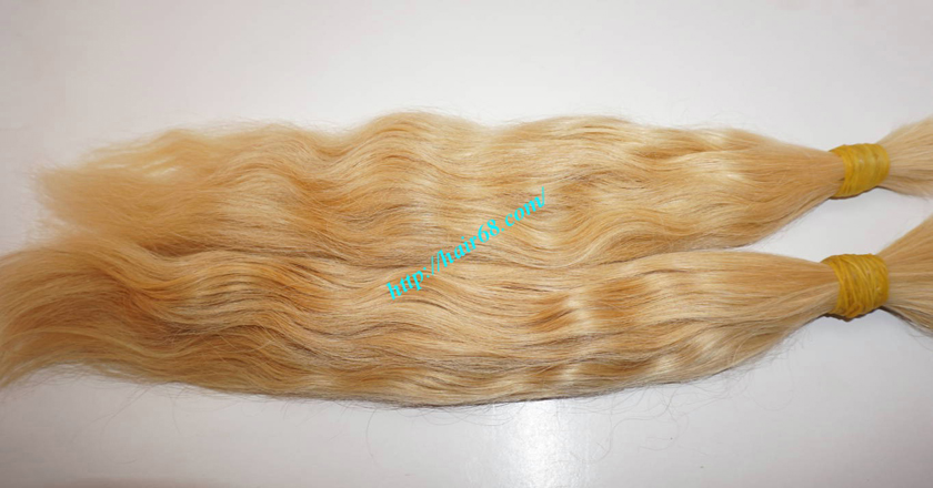 30 inch blonde hair wavy single drawn 1
