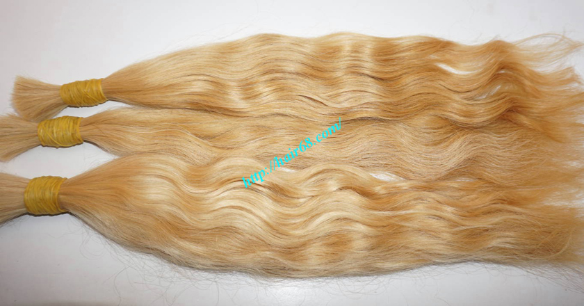 30 inch blonde hair wavy single drawn 2