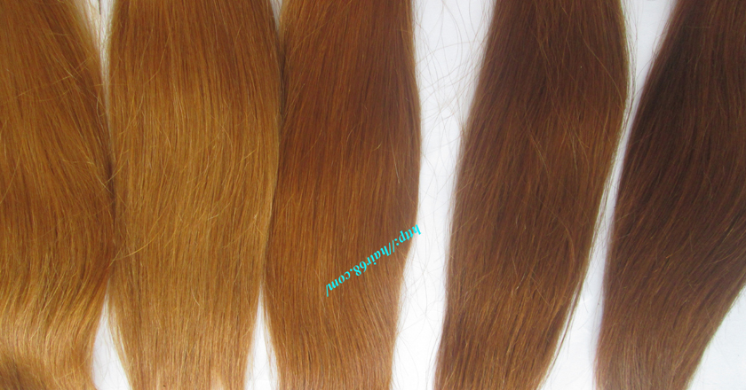 30 inch blonde weave hair extensions 3