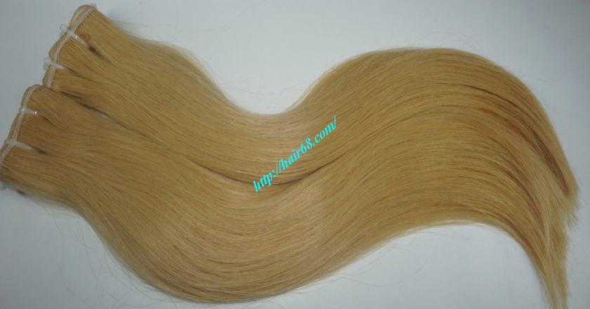 30 inch blonde weave hair extensions 5
