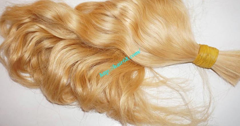 32 inch blonde hair wavy single drawn 1