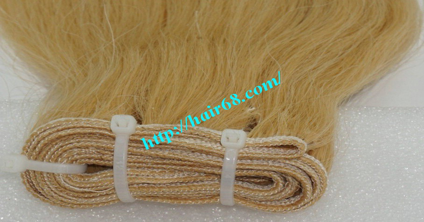 32 inch blonde weave hair straight remy hair 1