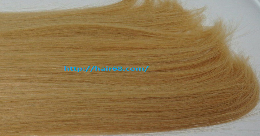 32 inch blonde weave hair straight remy hair 4