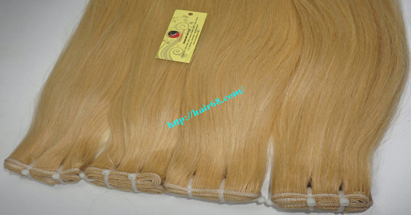 32 inch blonde weave hair straight remy hair 8