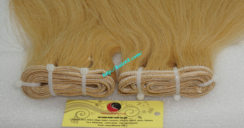32 inch cheap blonde weave hair extensions 1