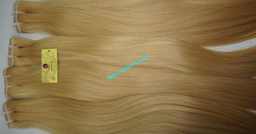 32 inch cheap blonde weave hair extensions 10