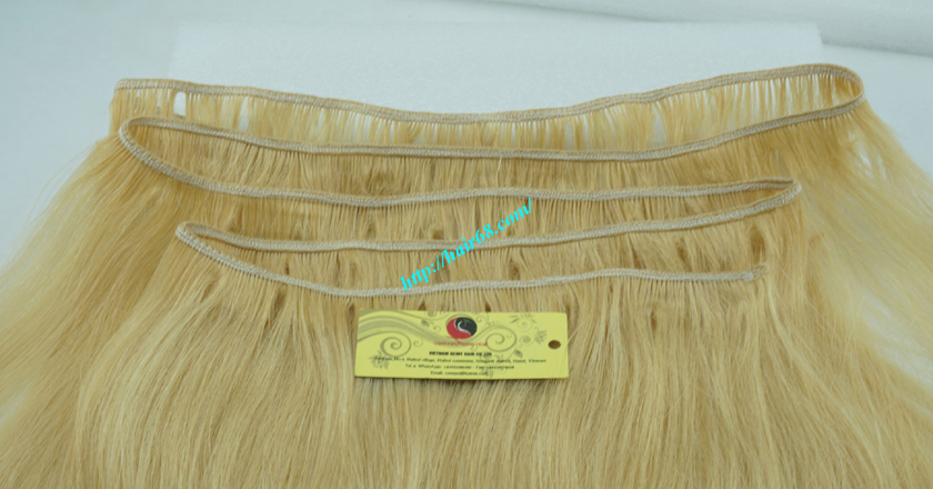 32 inch cheap blonde weave hair extensions 2
