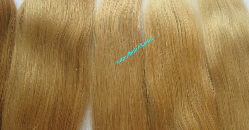 32 inch cheap blonde weave hair extensions 3