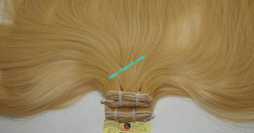 32 inch cheap blonde weave hair extensions 5