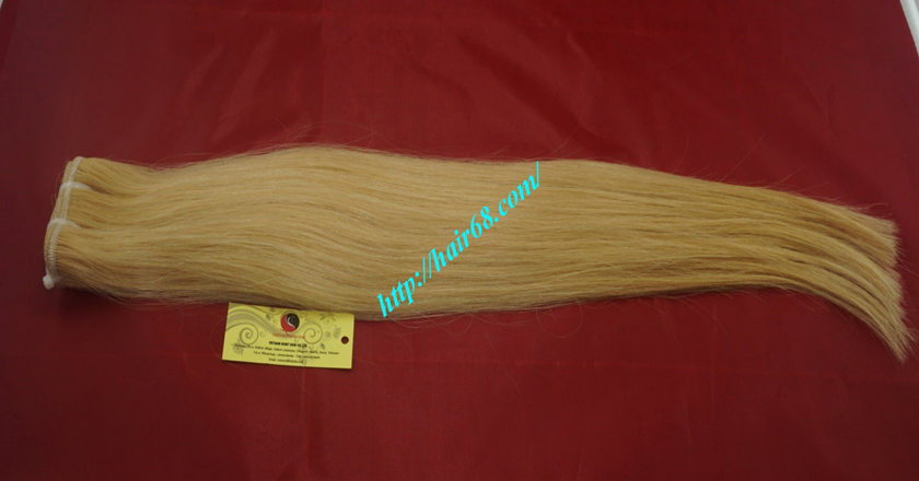 32 inch cheap blonde weave hair extensions 6