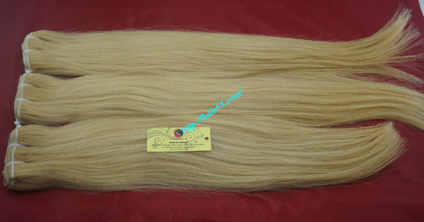 32 inch cheap blonde weave hair extensions 8