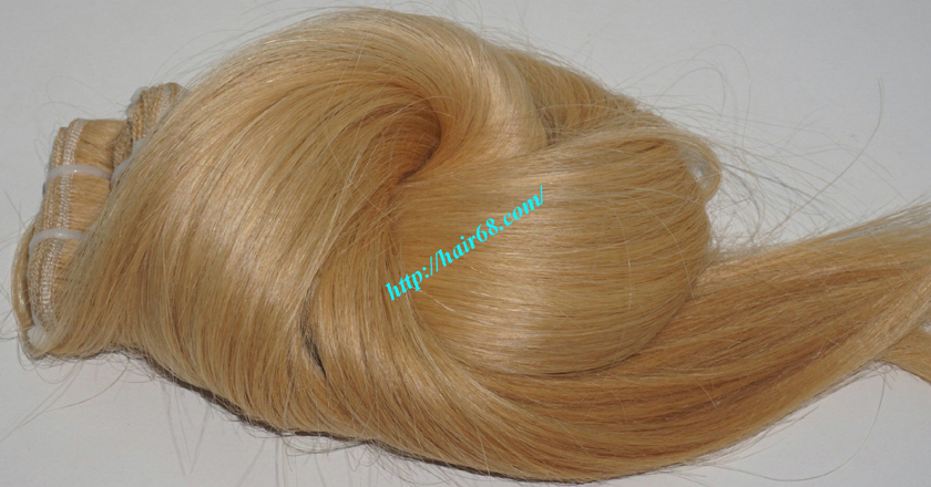 8 inch blonde weave hair straight remy hair 8