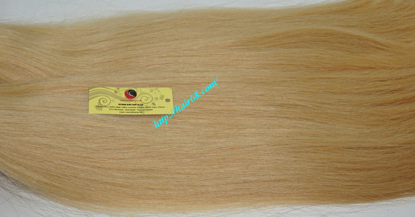 8 inch blonde weave hair extensions 3