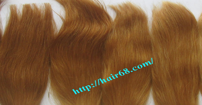 8 inch blonde weave hair extensions 4