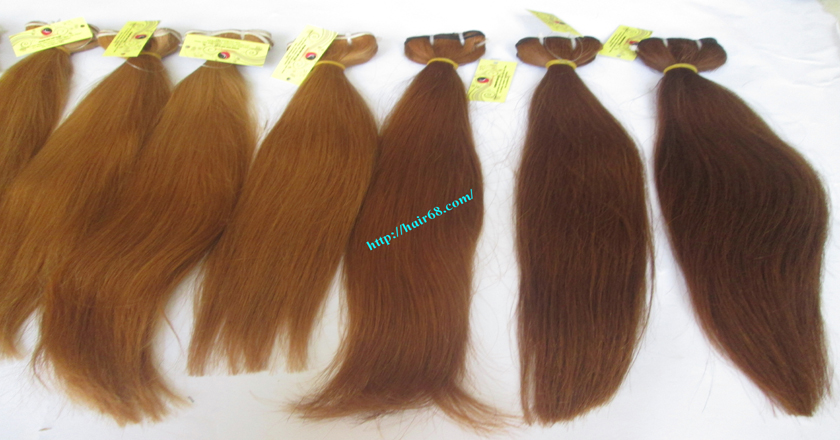 8 inch blonde weave hair extensions 6
