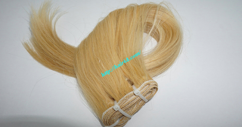 8 inch blonde weave hair extensions 8