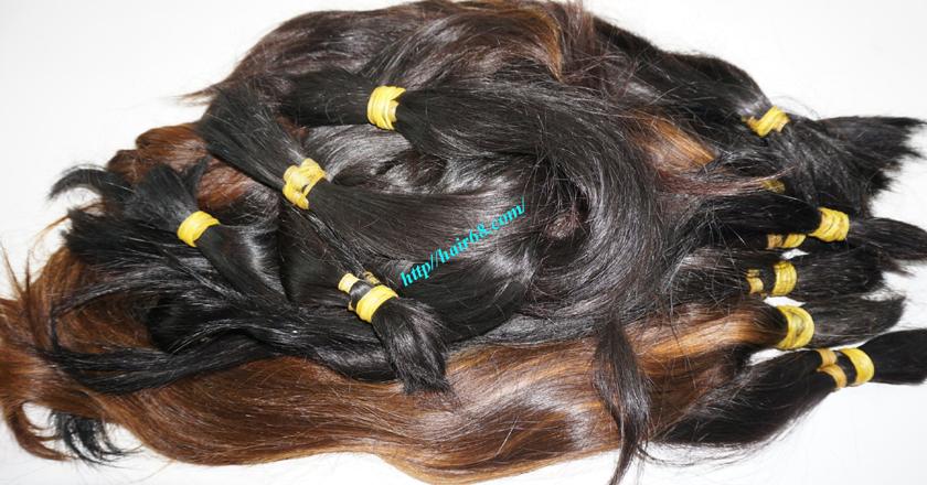 10 inch cheap human hair straight single drawn 1