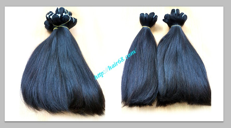 10 inch straight weave hair super double 1