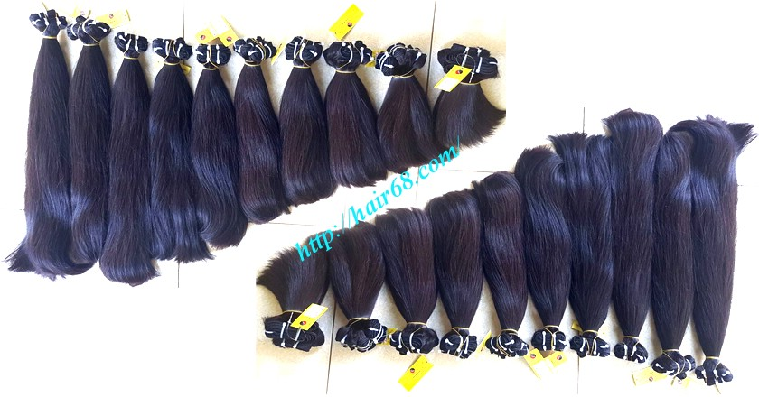 10 inch straight weave hair super double 4