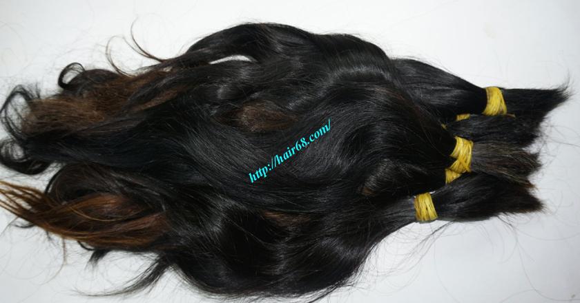 10 inch cheap human hair wavy double drawn 1