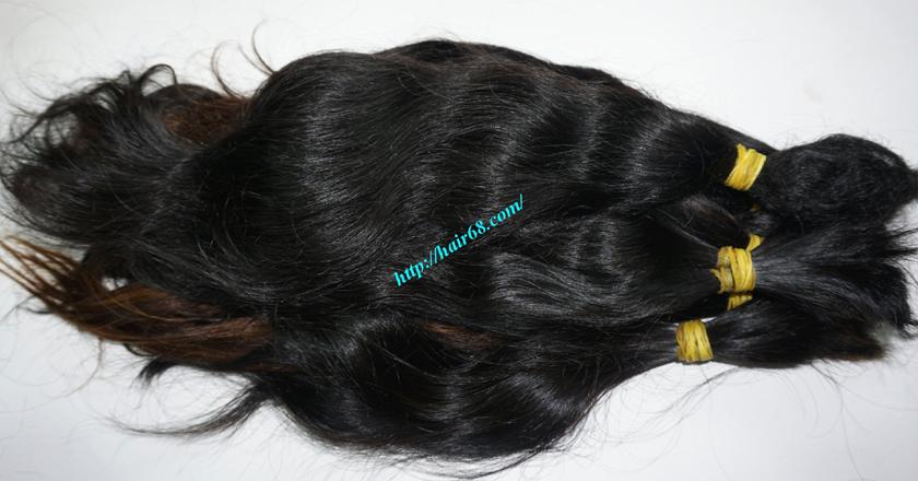 10 inch cheap human hair wavy double drawn 2