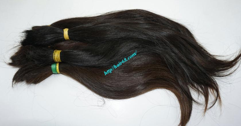 12 inch cheap human hair straight double drawn 1
