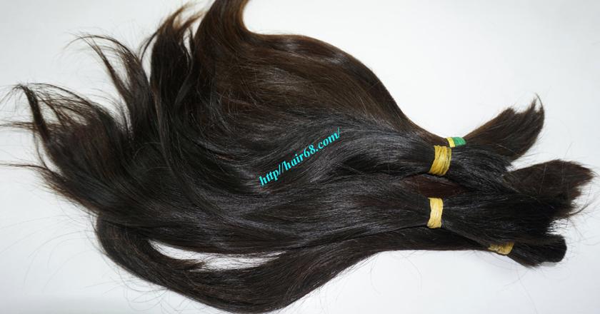 12 inch cheap human hair straight double drawn 2