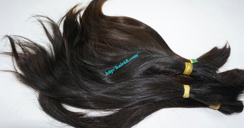 12 inch cheap human hair straight double drawn 3
