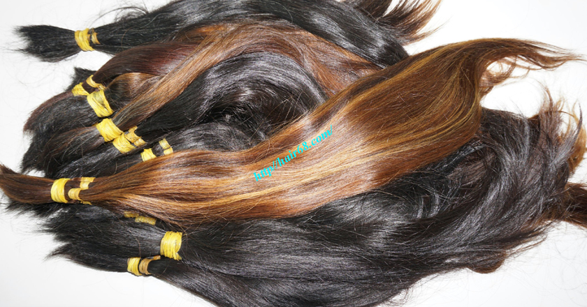 12 inch cheap human hair straight single drawn 1