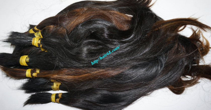 12 inch cheap human hair straight single drawn 2