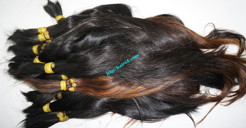 12 inch cheap human hair straight single drawn 3