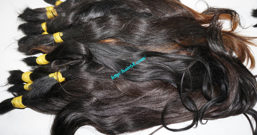 12 inch cheap human hair straight single drawn 4
