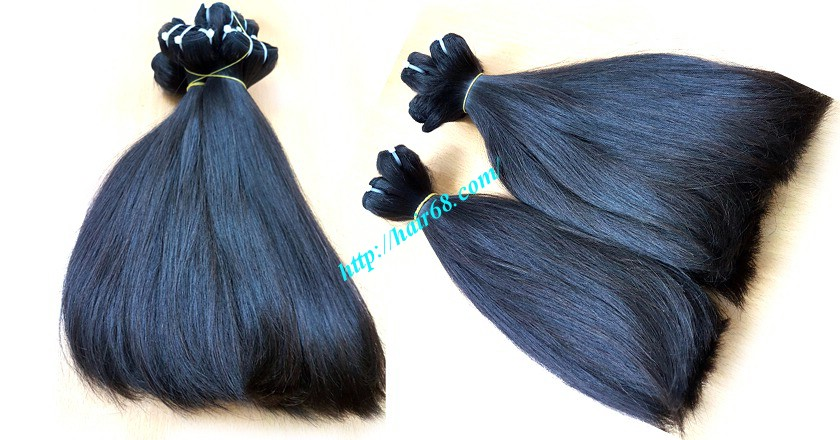 12 inch straight weave hair super double 1